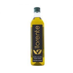 "Pet Bottle Of 1 Liter Of Extra Virgin Olive Oil ""LLORENTE"""