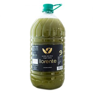 "Box Of 3 Pet Carafes Of 5 Liters Of Extra Virgin Olive Oil ""without Filtering"" ""LLORENTE"""