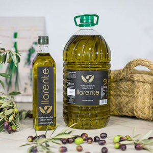 "Pet Carafe Of 5 Liters Of Extra Virgin Olive Oil ""LLORENTE"""