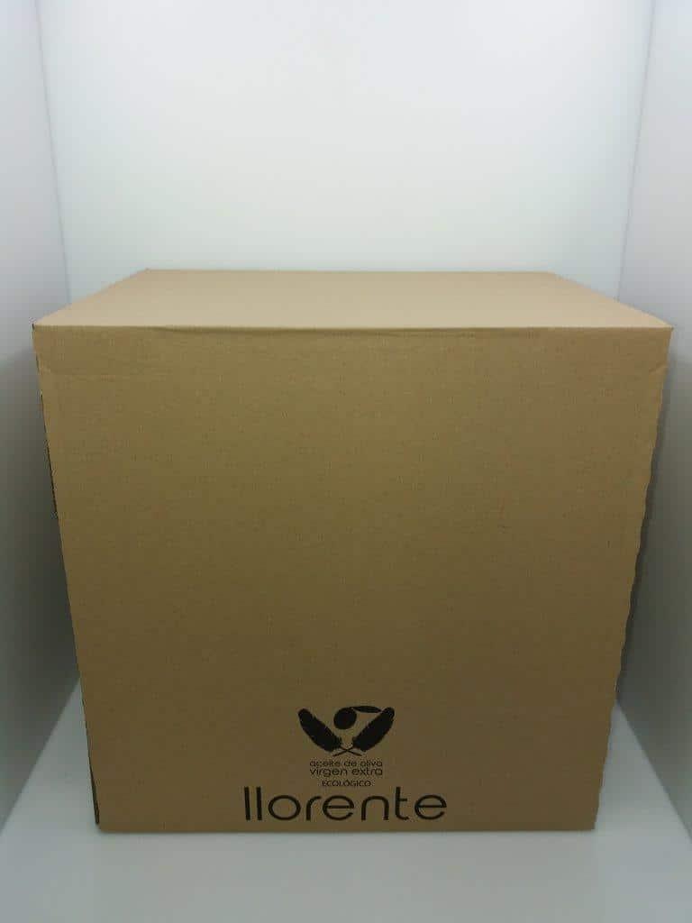 Packaging original Aceites Llorente