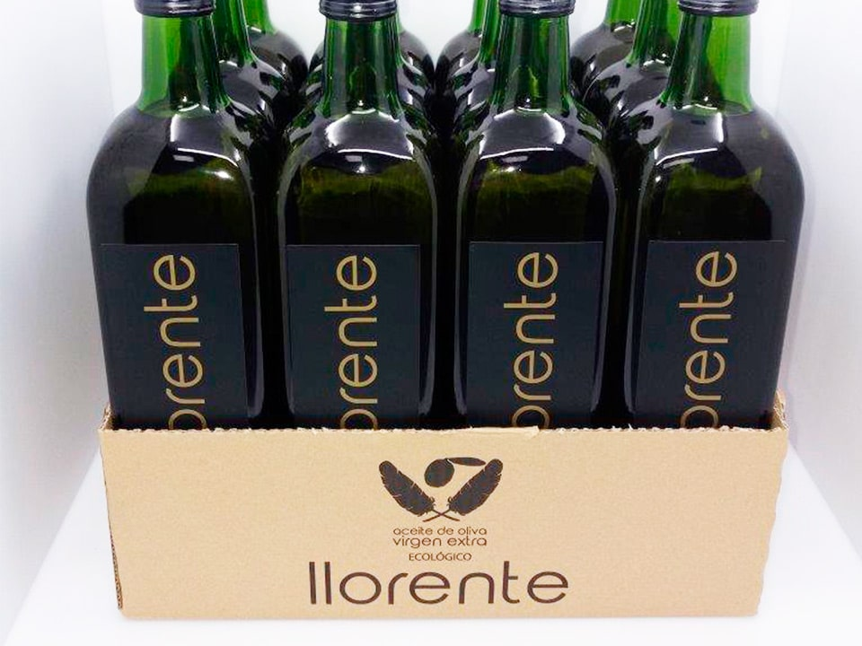 Packaging Original Aceites Llorente